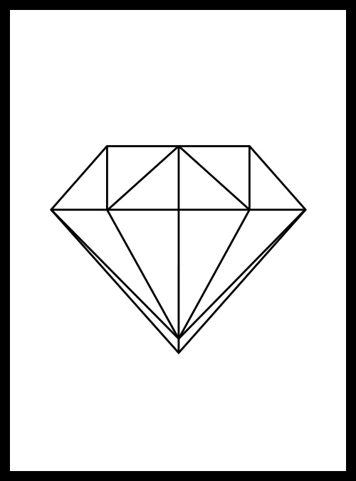 Line Art Diamond : Pin studio background in picture to pinterest on